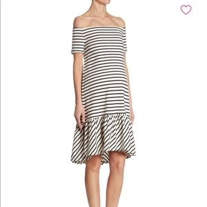 Hatch collection off the shoulder maternity dress